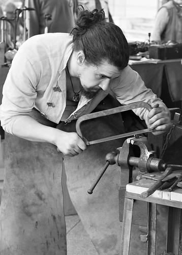 Street  blacksmith