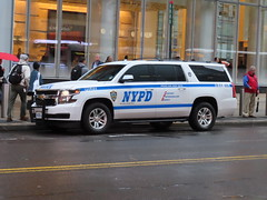 NYPD Chevy Suburban
