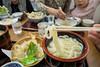 Photo:うどん(小)でかなりの量!うまじ家はうどんを作る過程も見られるお店、大混雑に常連さんも目を白黒させていました。周りのうどん屋さんも軒並み混雑。さすが香川県。 Apr 29, 2019. By akikoyanagawa