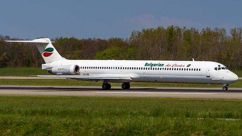 McDonnell Douglas MD-82 LZ-LDM Bulgarian Air Charter