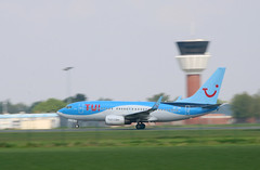 Boeing 737-7K5, TUI Fly, destination Bruxelles, OO-JOS - Photo of Phalempin