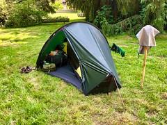 Campingplatz in Aizelles, Frankreich