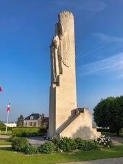 Kriegerdenkmal der zwei Weltkriege 17 Meter hoch gelegen auf dem Mont-de-Vaux, Laon, Frankreich