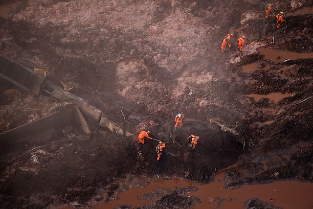 Nearest communities impacted by the toxic mud that poured out after the Brumadinho dam broke were mostly of color - Créditos: Douglas Magno/AFP