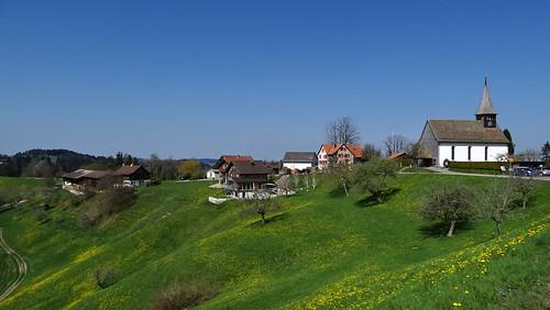 Zürcher Oberland - Sternenberg (870 m.ü.M.)