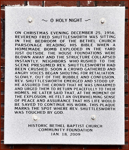 'O Holy Night' (December 25, 1956) -- 33rd and 29th Sts. North Birmingham (AL) February 2019