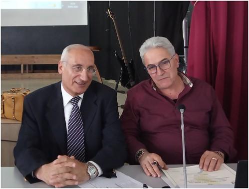 Con il preside Francesco Sacco