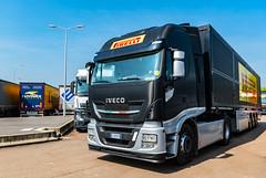 F1 Pirelli Tyre Trucks @ Sommesous France