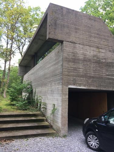 House van Wassenhoven by Juliaan Lampens, 1974. Belgium