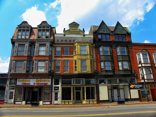 Rochester New York - Frederick Douglass Apartments - Historic