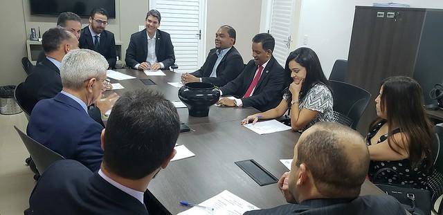 Projeto 'A AMMA e o Parlamento' recebe deputados federais do Maranhão