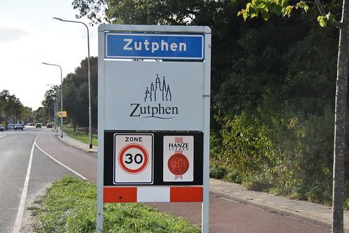 Plaatsbord Zutphen