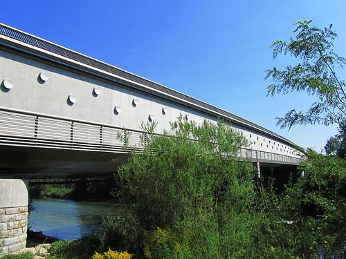 20110831 15 214 Jakobus Traun Fluß Brücke