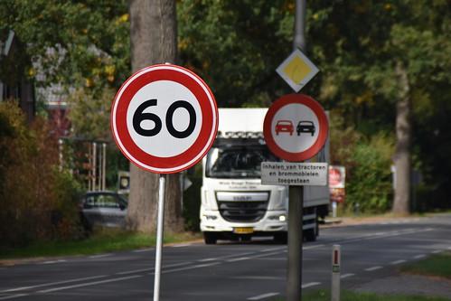 Maximum snelheid 60km/u