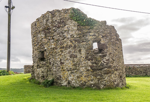 Remains of Bastioned Fort pre-1568, Passage East, Co. Waterford