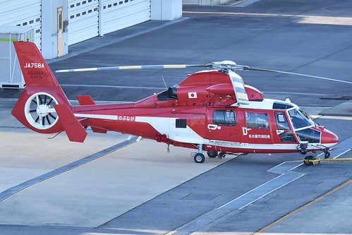 Eurocopter AS365N3 Dauphin 'JA758A'