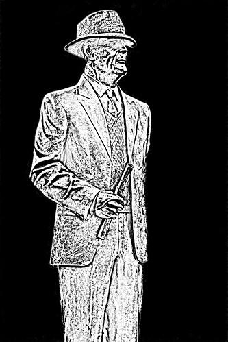 Paul Bryant Statue -- University of Alabama Tuscaloosa (AL) February 2019