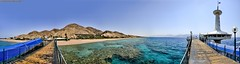 300° Panorama: Eilat's Underwater Observatory, July 2011, Israel