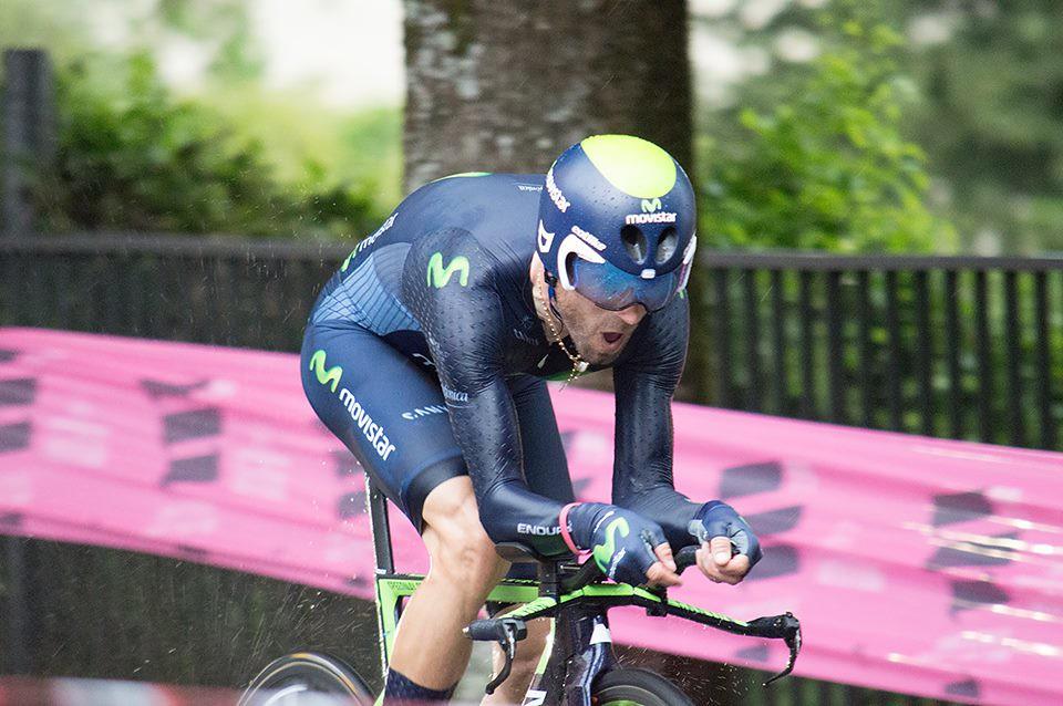 Giro 2016 - Cronometro del Chianti Classico - passaggio da Castellina in Chianti - Alejandro Valverde (inviata dal sig. Massimo)