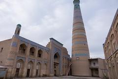Minaret Islam Chodża o poranku