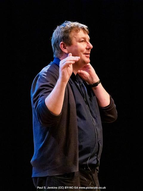 P4253204 Danny Dorling at Winchester Skeptics