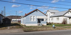 Image by Tim Kiser (timboduke) and image name YEAR 1939 IN THE FORM OF A HOUSE in Huntington, West Virginia. photo  about In Huntington, West Virginia, on December 24th, 2018, a house (built 1939) on the north side of Adams Avenue (U.S. Route 60), east of 12th Street West.  -----------------------  Getty Thesaurus of Geographic Names terms: • Cabell (county) (2002257) • Huntington (7013731)  Art & Architecture Thes