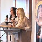 Munich-Vassula Standing as she presents her speech