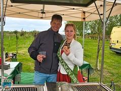 2019 Kirschkönigin und Prinzenpaar auf den Obsthöfen