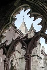 Abbatiale de Wissembourg vue du cloître côté nord