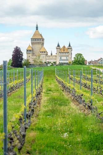 Château de Vufflens, Vaud, Switzerland.