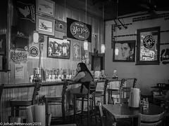 Alone at the bar