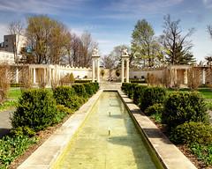 Unterer Park - Inside the walled garden