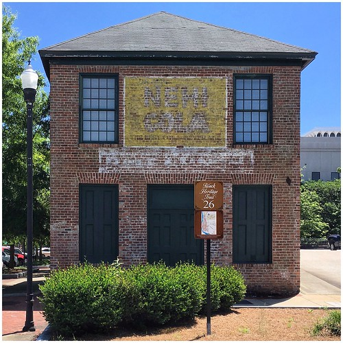 Renovated Building with Ghost Sign | Front Avenue Columbus, Georgia