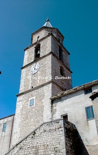Colle Sannita (BN), 2008, Chiesa di San Giorgio.