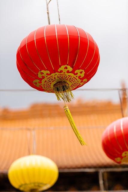Lanterns at Wong Tai Sin Temple