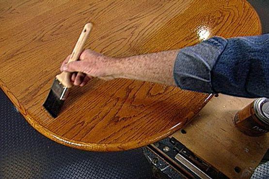 How to Refinish a Kitchen Table • Ron Hazelton Online
