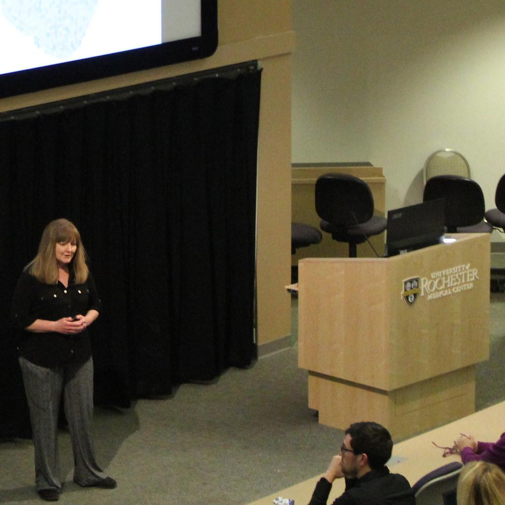 Elizabeth Anson Presenting