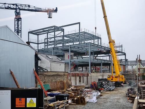 Florentine Centre Bray construction