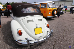 Vw Cox cabrio back - Photo of Soucht