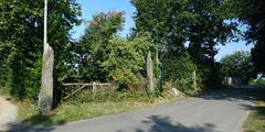L'alignement de menhirs du bourg de Saint-Just - Ille-et-Vilaine - Septembre 2018 - 04 - Photo of Bruc-sur-Aff