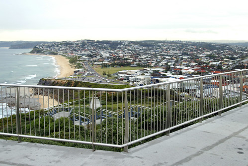 Newcastle Memorial Walk - Down the hill to Bar Beach and Merewether