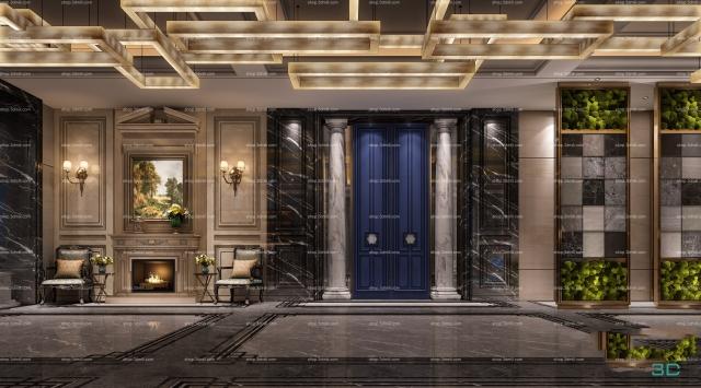 343  Sell Album Hotel Lobby 06 - 3D Mili - Download 3D Model - Free 3D  Models - 3D Model Download