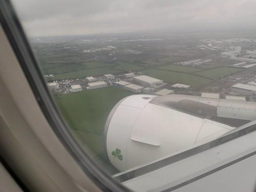 Arriving in Dublin