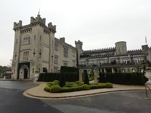 At Cabra Castle Kingscourt Co Cavan.