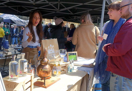 Makers Market 11 May in Preston - 10 - Goosnargh Gin