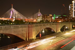 Hunts Photo Walk: Lechmere Viaduct @ Night