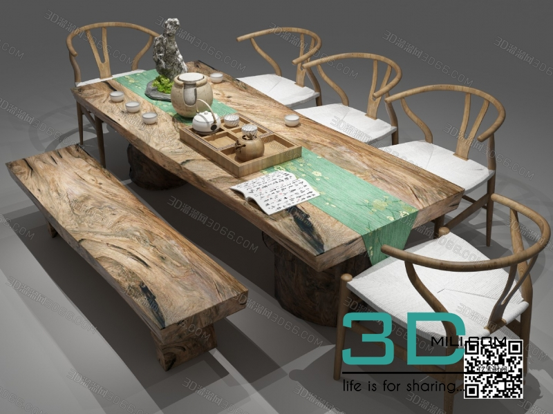 Collections table and chair 3D66 part 2 16