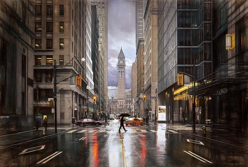 City Rains
