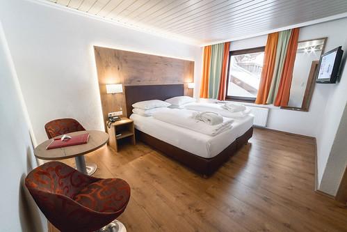 Schlafzimmer Alpen Adria Hotel & Spa
