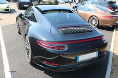 Porsche 911 type991 back - Photo of Quatzenheim